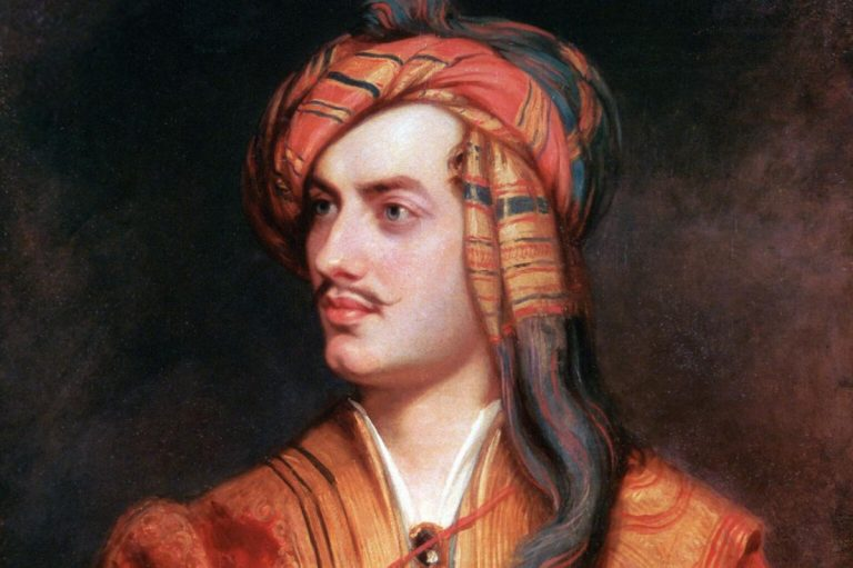 'WHO WOULD BE FREE THEMSELVES MUST STRIKE THE BLOW.' Lord Byron