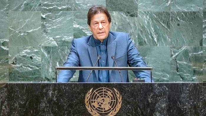 Pakistan Prime Minister Imran Khan Addresses General Debate, 74th Session