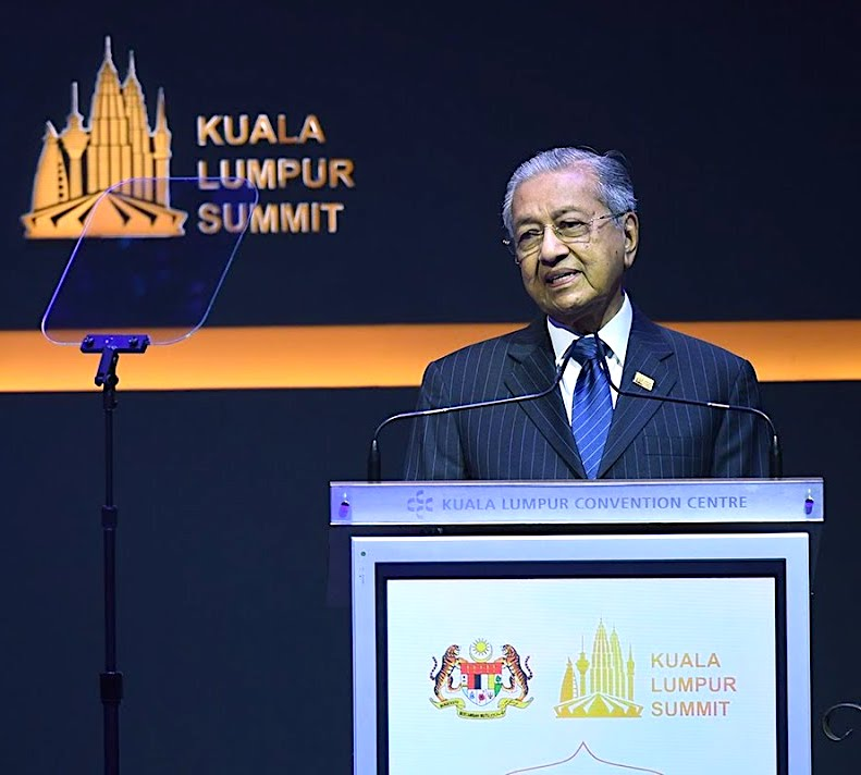 Malaysia Prime Minister Dr. Mahathir bin Mohamad KL Summit 2019 – Gold Dinar